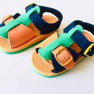 Other - Multicoloured Foam Sandals